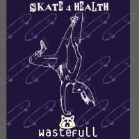 Ally Bruckshaw 'Skate For Health' Digital Illustration