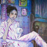 Amina Badylbayeva. Acrylic on Canvas
