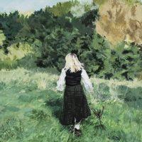 Caitlin Hegarty Acrylic on canvas