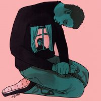 Caitlin Hegarty 'Self' Digital Illustration