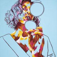 Cora O'Gorman Acrylic on canvas