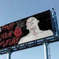 James Gordon 'Find Your Future' Digital Illustration